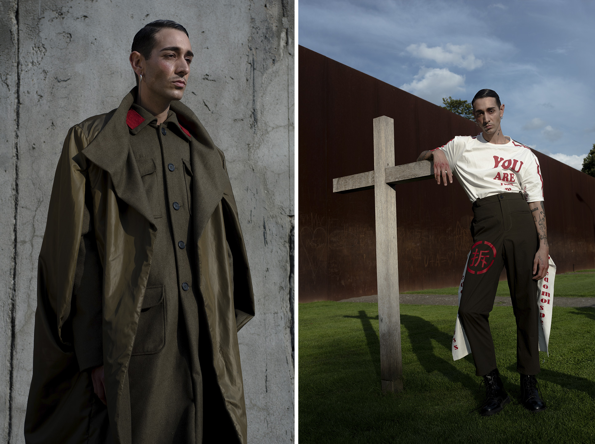 daniel peace kaltblut editorial menswear photography